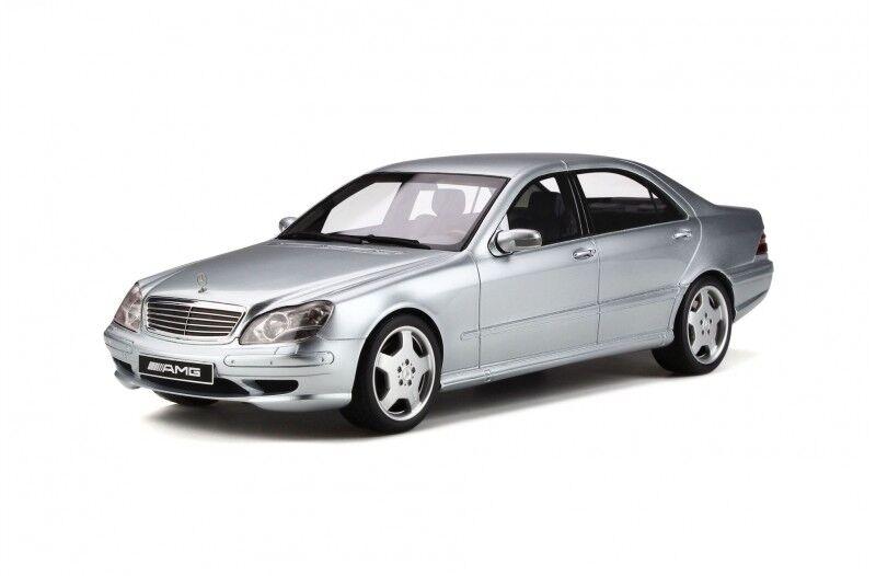 Mercedes S55 AMG (W220) Brillante argento 1 18 Modelo por Otto Mobile OT292