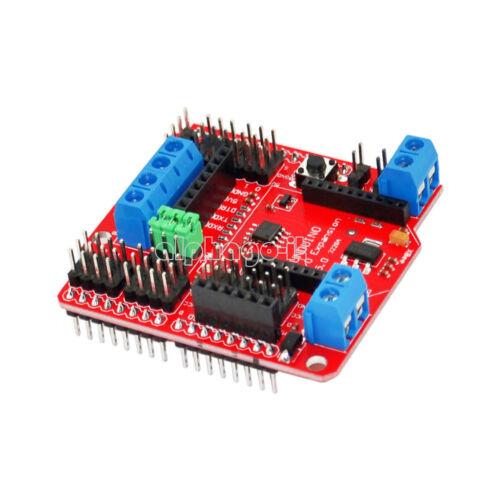Xbee//Bluetooth//SRS485 RS485//APC220 I//O Sensor V5.0 Expansion Shield For Arduino