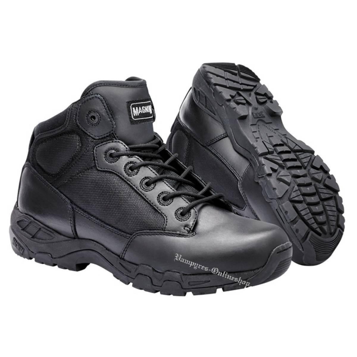 Magnum Viper Pro 5.0 WP Hi-Tec Boots Schwarz Stiefel Security HiTec Schuhe Black