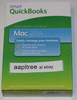 Intuit Quickbooks 2014 For Mac, 1 User, Full Retail Version Sealed