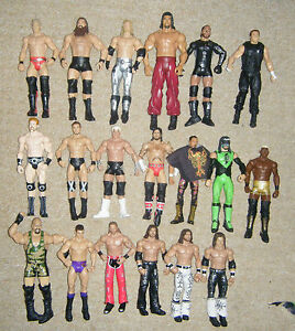 Figuras-De-Accion-Wrestling-Superstars-Matel-Elite-Wwe-Tna-Series-Basico