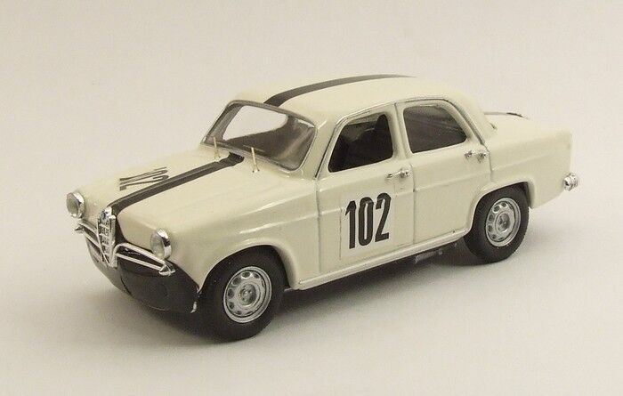 Rio 4384 - Alfa Romeo Giulietta TI  102 Nurburgring - 1963    1 43