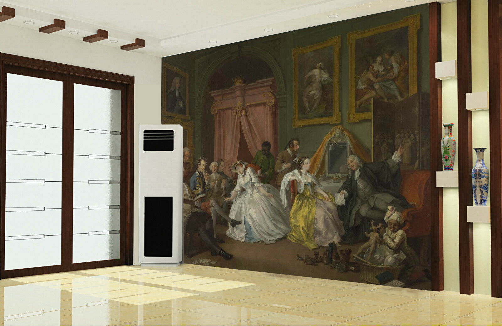3D Umstritten 1166 Fototapeten Wandbild Fototapete Bild Tapete Familie Kinder DE