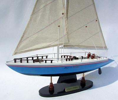 """32/"""" Shamrock Sailboat Model Irish Green"""