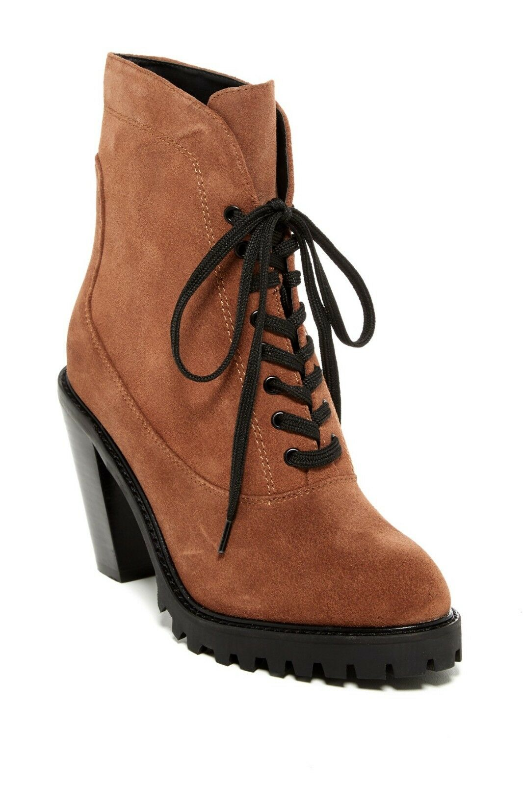 New  Kelsi Dagger Brooklyn Berlin Lace-Up avvioie donna stivali