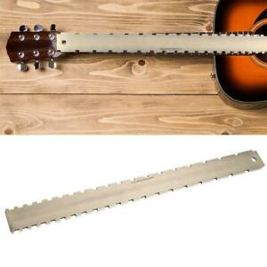 Fret-Board-Straight-Edge-Luthiers-Tool-for-Guitars-Neck-Leveling-24-75-Notched