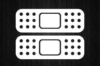 Sticker decal tuning JDM drift car bumper objects mirror losing white macbook