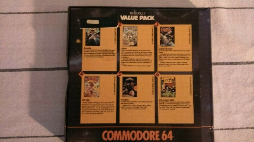 Value Pack, Commodore 64