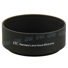 JJC 52mm Metal Lens Hood For CANON EF 50MM 1:1.8 Nikon AF-S 55-200MM 1:4-5.6G