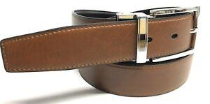 Cinturon de Piel Reversible Para Hombre VARIAS MEDIDAS (100 % PIEL AUTENTICA)