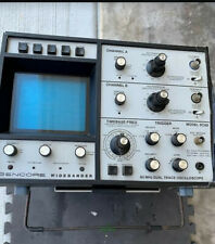Lab Equipment Sencore Widebander 60mhz Dual Trace Oscillascope Model Sc60