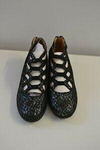 Details zu Pumps Caprice Damen Leder Schuhe in Weiß Lack Gr.37,5 Gebraucht