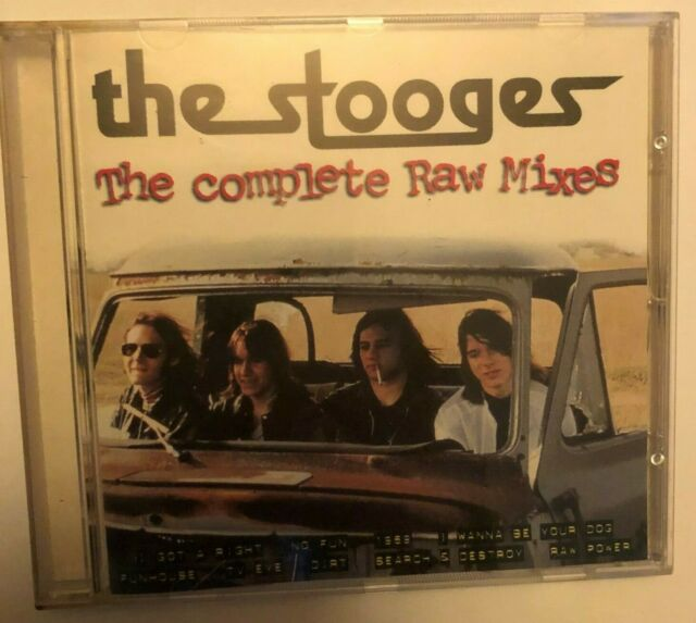 The Stooges - Complete Raw Mixes ( Like new CD) Revenge Records, France