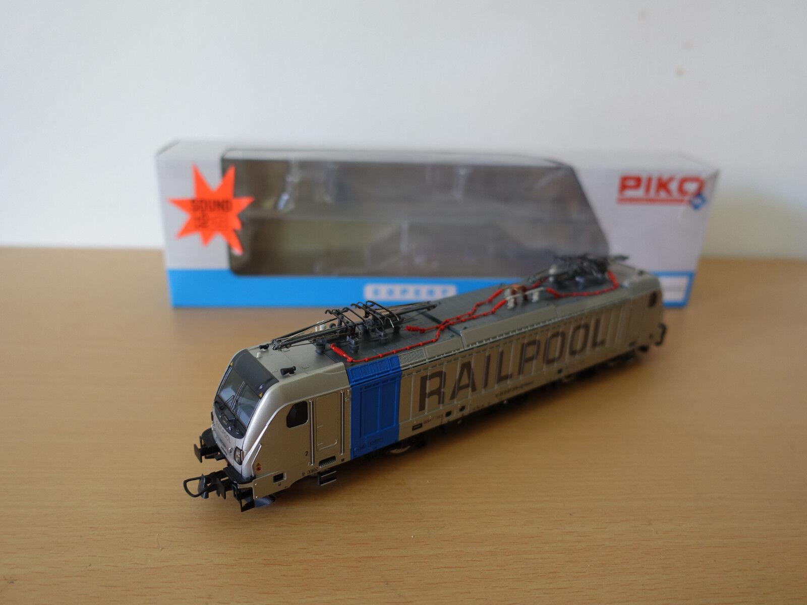 Piko Expert 51564-3 e-Lok br187 railpool PE vi con esu Sound de fábrica