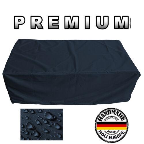 Premium Tavolo da Giardino Involucro Protettivo Telone di copertura B 155cm X T 95cm X H 71cm Nero