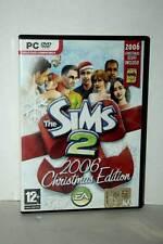 THE SIMS 2 2006 CHRISTMAS EDITION GIOCO USATO PC DVD VERSIONE ITALIANA GD1 43220