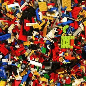 Lego-1-kg-Kilo-Steine-Platten-Raeder-Sondersteine-gemischt-Kiloware