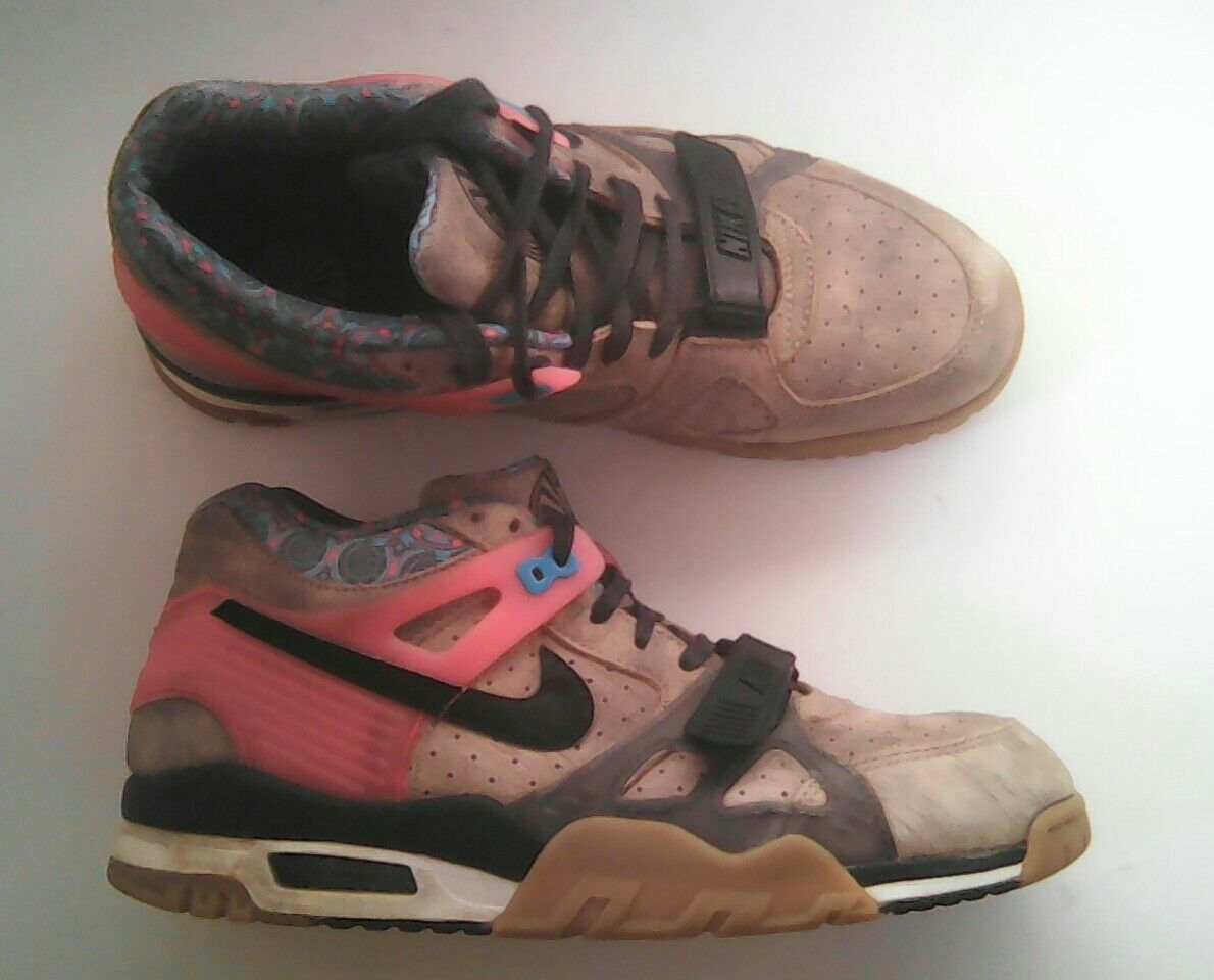 best sneakers bb554 00b4a order nike air trainer 3 prm qs 709989 201 superbowl edition 709989 201 qs  size 8