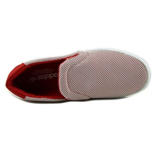 NEW Adidas Court Vantage Adicolor Mens Loafers -Red