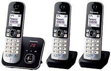 B-Ware! Panasonic KX-TG6823GB DECT-Schnurlostelefon mit Anrufbeantworter schwarz