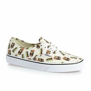 vans authentic drained and confused white bianco panna