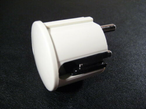 hochglanz VDE 240V weiß 5 x Schuko Winkelstecker