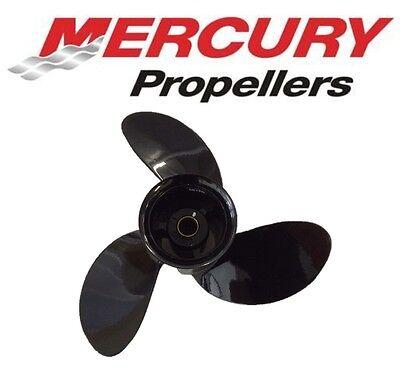 """MERCURY//MARINER 9/""""x10/"""" PROPELLER 6hp 8hp 9.9hp 15hp 20hp Aluminium Outboard Prop"""