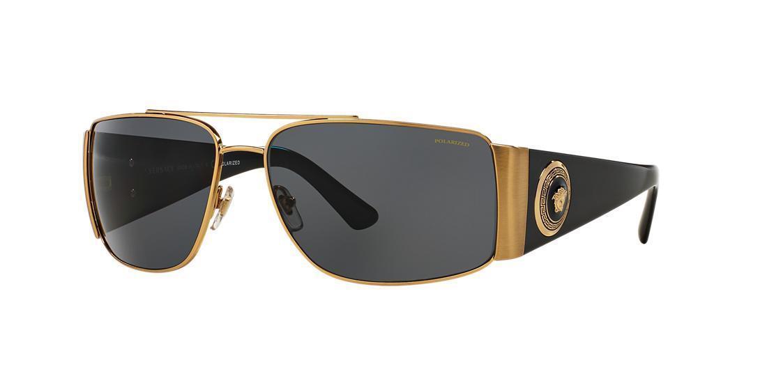c19a4c986bd Versace Sunglasses Men Ve 2163 Gold 1002 73 Ve2163 63mm for sale ...