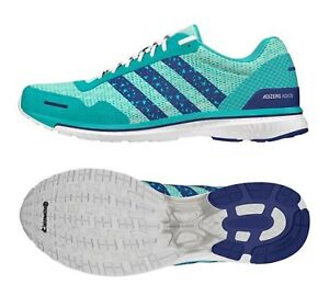 info for 0afd7 8ebd2 Image is loading Adidas-Women-ADIZERO-ADIOS-Training-Shoes-Running-Mint-