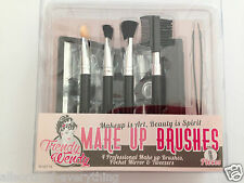 Set of Make Up Brushes with Mirror & Tweezers