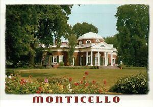 Astonishing Details About Monticello Home Of Thomas Jefferson Charlottesville Virginia President Postcard Download Free Architecture Designs Parabritishbridgeorg