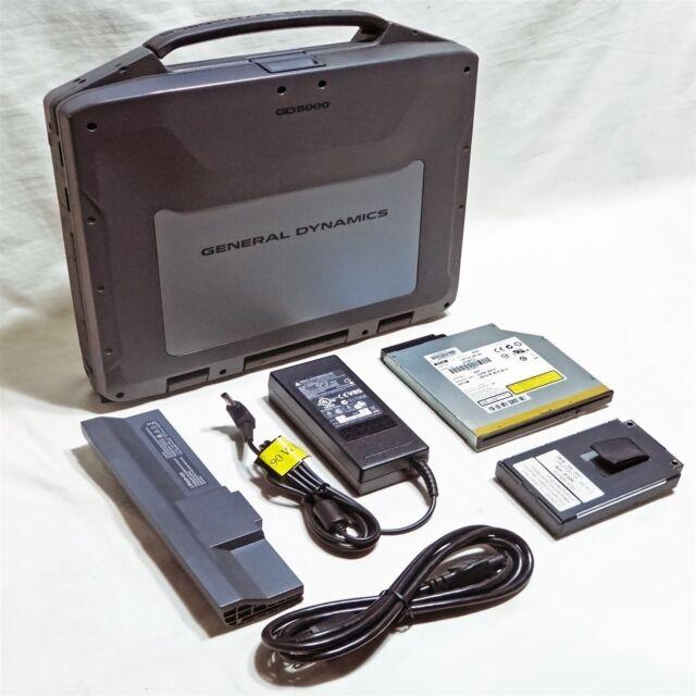 Itronix GD8000 Touchscreen DVD Backlit KB Rugged Marine Chartplotter GPS Laptop