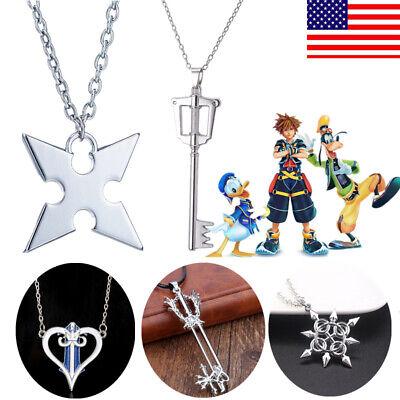 Kingdom Hearts Sora Crown Necklace Christmas Gift