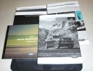 ford expedition owners manual set  guide wcase xlt