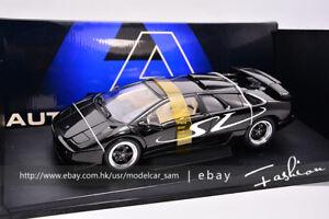 Autoart 1 18 Lamborghini Diablo Sv Black Ebay