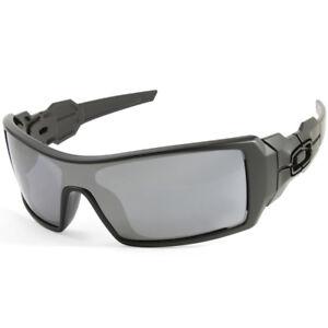 Oakley Oil Rig OO9081 03-464 Matte Black Black Iridium Men s Sport ... 7500b61d6b