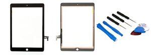 Apple-Ipad-Air-A1474-ecran-tactile-digitizer-vitre-noir-COLLE-W