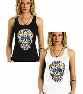 Velocitee Ladies Vest Eat Me Magic Mushroom Comic Style Lichtenstein A22307