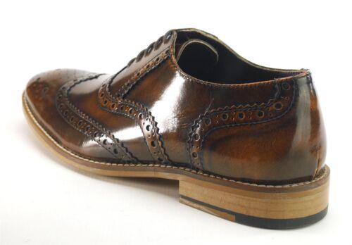 Lace Frank Newman Mens Brogues Tan Wingtip Leather Shine James Hi nWYg6rW4