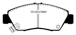 DP4890R EBC Yellowstuff Front Brake Pads fit HONDA