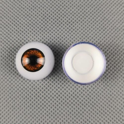 Reborn Baby Acrylic Eyeballs For OOAK BJD Doll DIY Making Half Round Eyes Kits