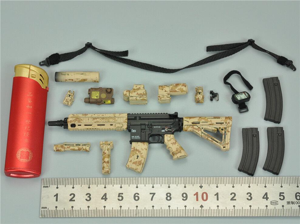 HK416 Rifle &  Accessories for ES 26021T specialeee Mission Unit Part VI 12  1 6 nuovo  compra nuovo economico