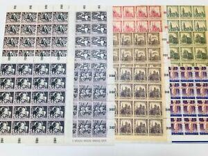 SAN-MARINO-1967-1968-MINT-NH-SHEET-PARTS-FREE-SHIPPING