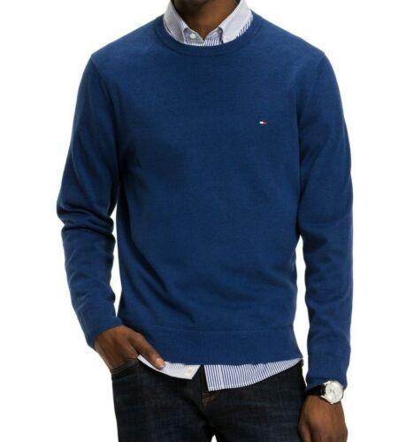 ROUND NECK Tommy Hilfiger 100/% Cotton Knit Pullover Jumper Sweatshirt On Sale