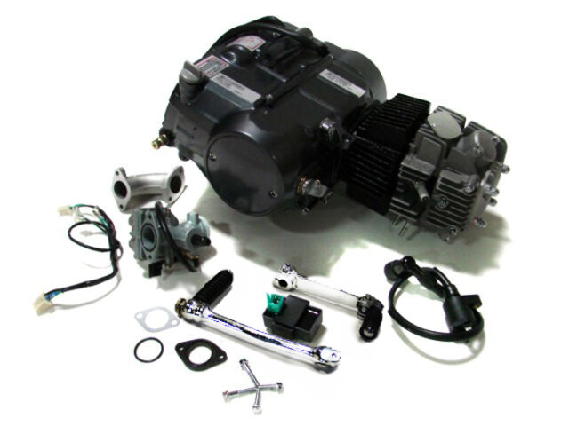 Lifan 125CC Engine Motor Carb For Honda XR50 CRF50 XR70 CRF70 CT70 ST70 110CC 70