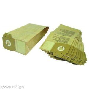 10 Pack Karcher Cv30 Cv30 / 1 Cv38 / 1 Cv48 / 2 Pour Aspirateur Sac-afficher Le Titre D'origine