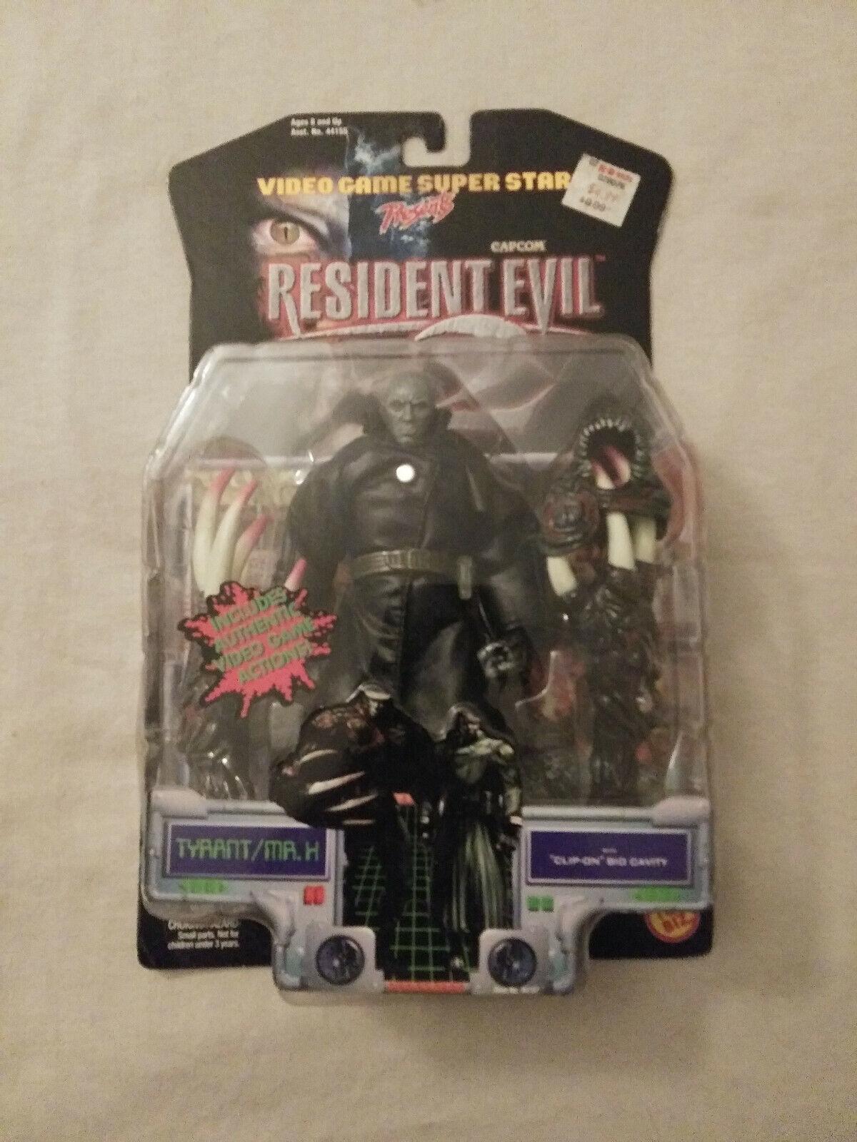 Mr. X Tyrant - Resident Evil 2 2 2 Action Figure (Video Game Superstars, 1998) 563395