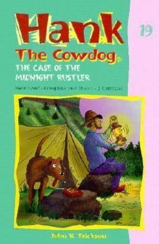 The Case of the Midnight Rustler (Hank the Cowdog 19)-ExLibrary