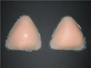 Triangle Shape Silicone Breast Enhancer for Bikinis,Bra Insert//Pads,Push Up,NEW