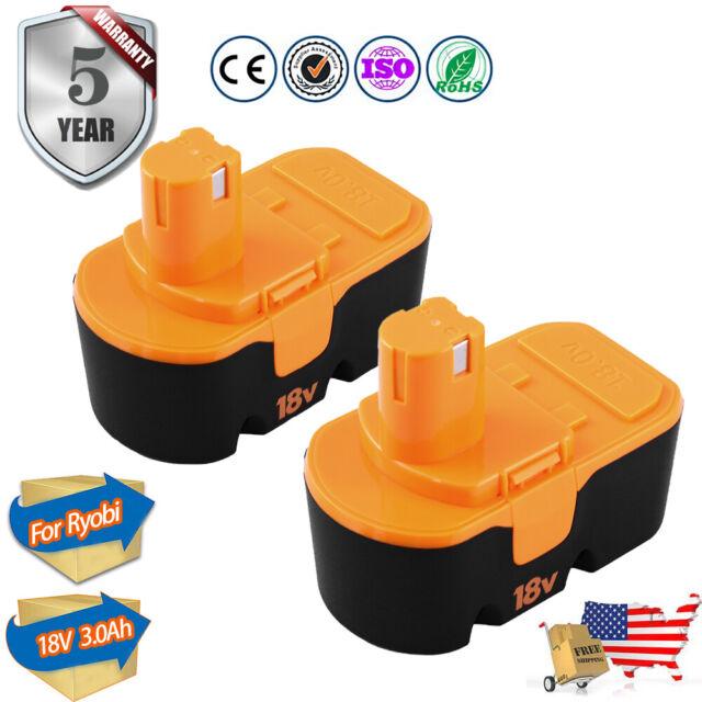 BATTERY 3000mAh 18Volt for Ryobi P400 P410 P420 P430 P500 BPP-1817 P100